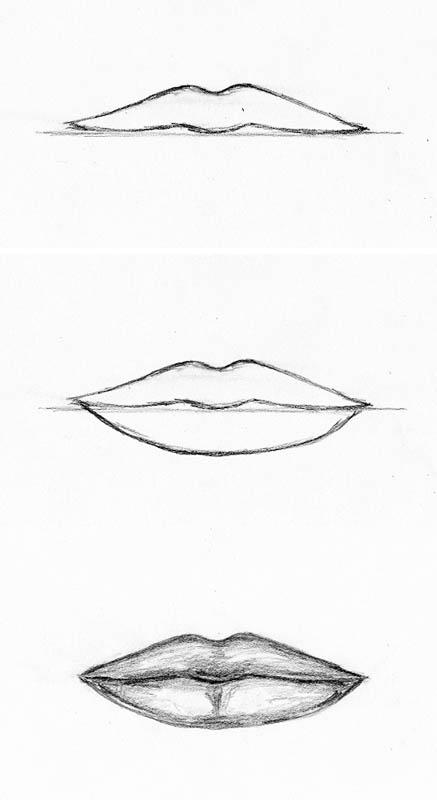 similiar simple mouth drawing keywords